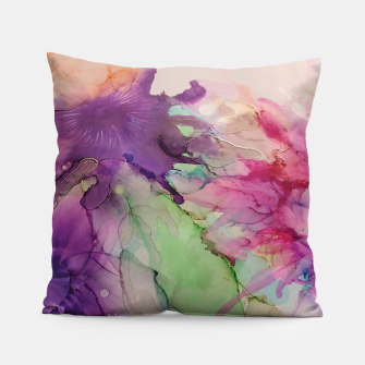 Thumbnail image of Flowers Blume multicolored Coussin, Live Heroes