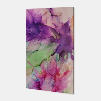 Thumbnail image of Flowers Blume multicolored Toile, Live Heroes