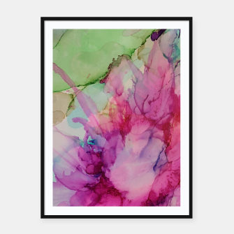 Thumbnail image of Flowers Blume multicolored Affiche et cadre, Live Heroes
