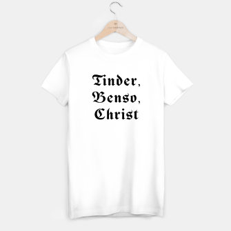 Thumbnail image of Tinder, Benso, Christ - Tee, Live Heroes