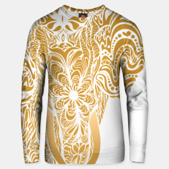Miniatur Not a circus golden elephant by #Bizzartino Unisex sweater, Live Heroes
