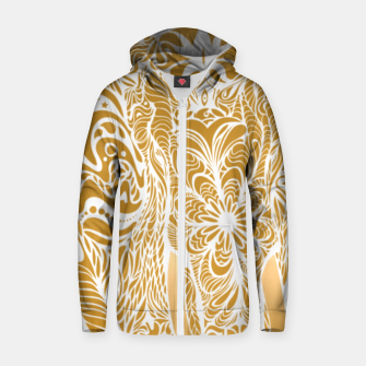 Miniatur Not a circus golden elephant by #Bizzartino Zip up hoodie, Live Heroes