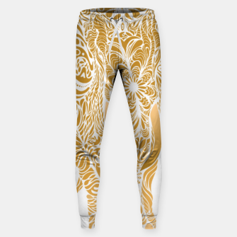 Miniatur Not a circus golden elephant by #Bizzartino Sweatpants, Live Heroes