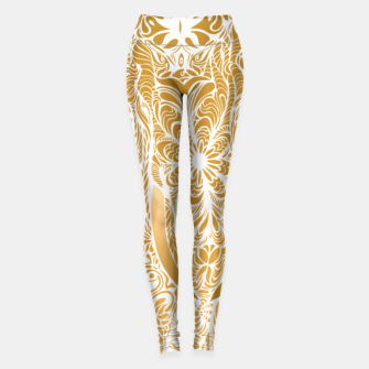 Thumbnail image of Not a circus golden elephant by #Bizzartino Leggings, Live Heroes