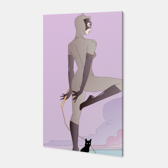 Thumbnail image of Catwoman Canvas, Live Heroes