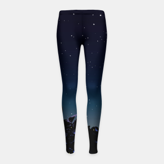Thumbnail image of While you were sleeping Girl's leggings, Live Heroes