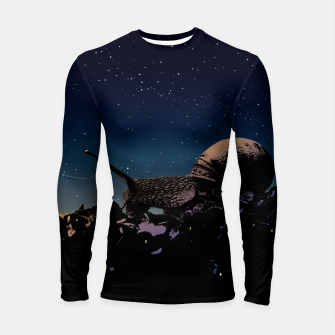 Thumbnail image of While you were sleeping Longsleeve rashguard , Live Heroes