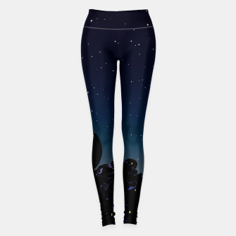 Thumbnail image of While you were sleeping Leggings, Live Heroes