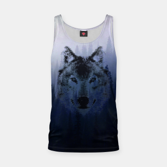 Thumbnail image of Wolf Tank Top, Live Heroes