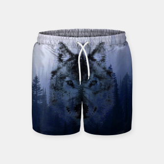 Thumbnail image of Wolf Swimshorts, Live Heroes