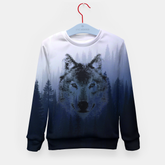 Thumbnail image of Wolf Kids Sweater, Live Heroes