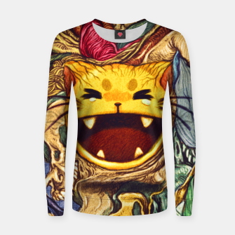 Thumbnail image of Surreal Cat Women sweater, Live Heroes
