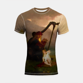 Thumbnail image of King Heimer and Aslög by August Malmström Shortsleeve rashguard, Live Heroes