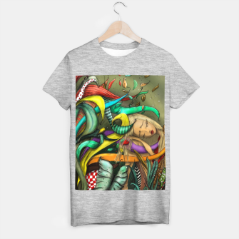 Thumbnail image of Blong Beautiful Girl Sleeping T-shirt regular, Live Heroes