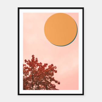 Miniatur Autumn and colors Framed poster, Live Heroes