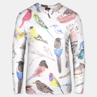 Thumbnail image of Birds of America- pets and wild birds Unisex sweater, Live Heroes