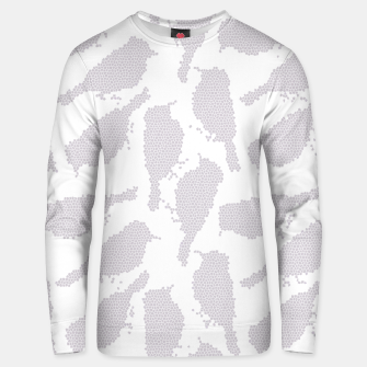 Birds in mosaic effect Unisex sweater Bild der Miniatur
