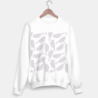 Birds in mosaic effect Sweater regular Bild der Miniatur