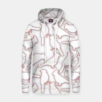 Thumbnail image of Male Northern Cardinal seamless Hoodie, Live Heroes