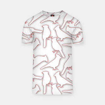 Thumbnail image of Male Northern Cardinal seamless T-shirt, Live Heroes