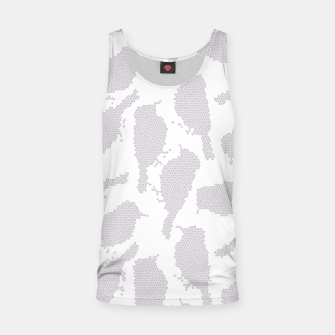 Birds in mosaic effect Tank Top Bild der Miniatur