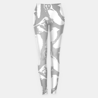 Wild birds mosaic effect Leggings Bild der Miniatur