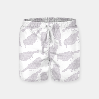 Birds in mosaic effect Swim Shorts Bild der Miniatur