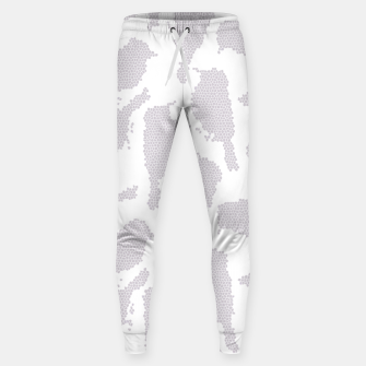 Birds in mosaic effect Sweatpants Bild der Miniatur