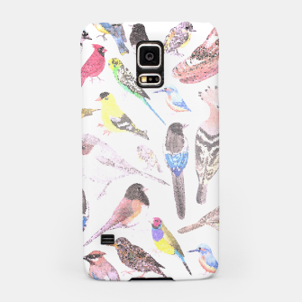 Miniatur Birds of America- pets and wild birds Samsung Case, Live Heroes