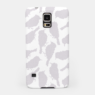 Birds in mosaic effect Samsung Case Bild der Miniatur