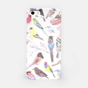 Thumbnail image of Birds of America- pets and wild birds iPhone Case, Live Heroes
