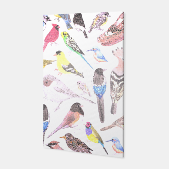 Thumbnail image of Birds of America- pets and wild birds Canvas, Live Heroes