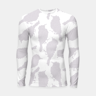 Thumbnail image of Birds in mosaic effect Longsleeve rashguard , Live Heroes