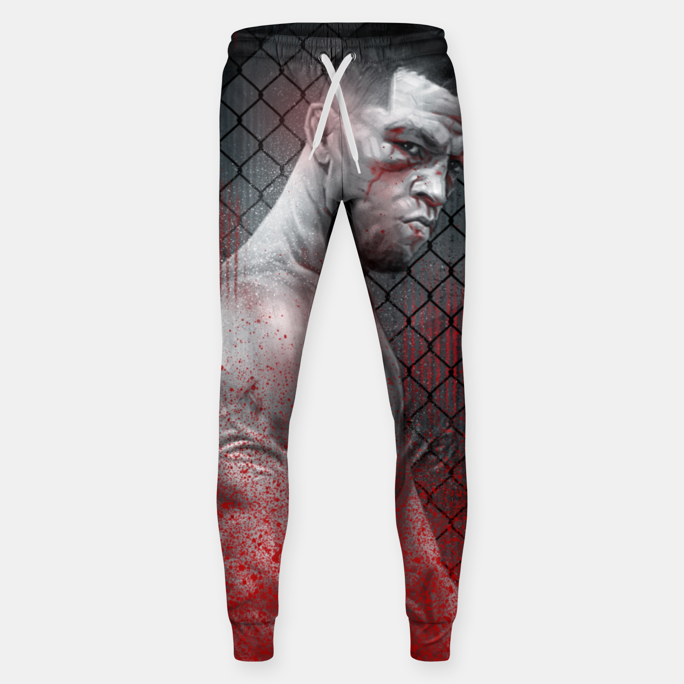 Image of Nate Diaz Sweatpants - Live Heroes