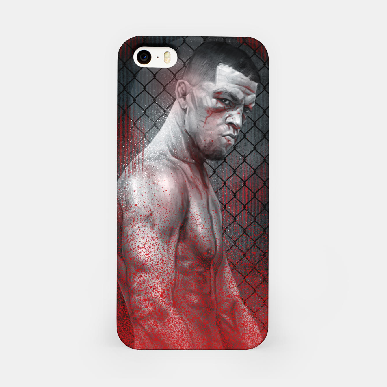 Image of Nate Diaz iPhone Case - Live Heroes