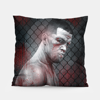 Thumbnail image of Nate Diaz Pillow, Live Heroes