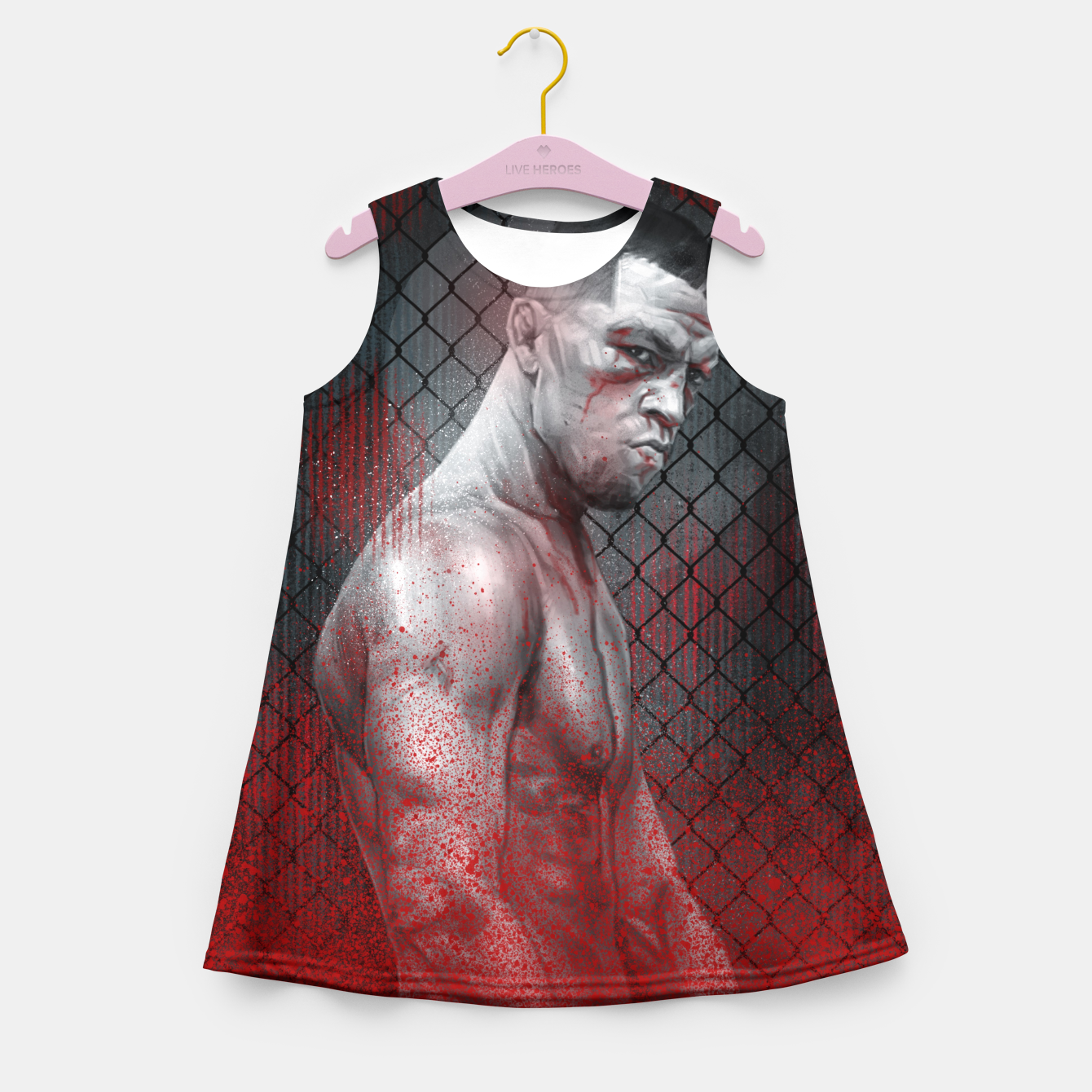 Image of Nate Diaz Girl's summer dress - Live Heroes