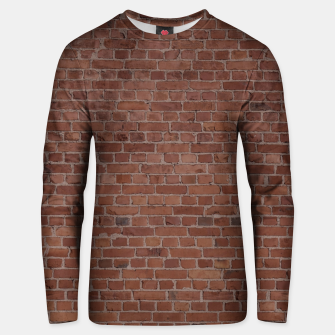 Thumbnail image of Brooklyn NYC Loft Appartment Brown Stone Brick Wall Unisex sweater, Live Heroes