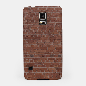 Thumbnail image of Brooklyn NYC Loft Appartment Brown Stone Brick Wall Samsung Case, Live Heroes