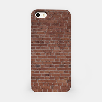 Thumbnail image of Brooklyn NYC Loft Appartment Brown Stone Brick Wall iPhone Case, Live Heroes