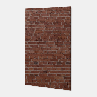 Thumbnail image of Brooklyn NYC Loft Appartment Brown Stone Brick Wall Canvas, Live Heroes