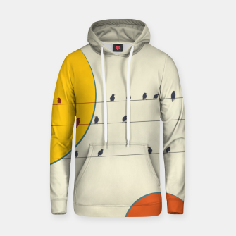 Miniatur Birds and wires 2 Hoodie, Live Heroes