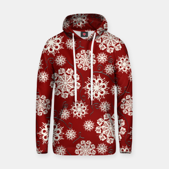 Thumbnail image of Snowflakes On Red Hoodie, Live Heroes