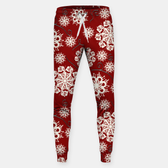 Thumbnail image of Snowflakes On Red Sweatpants, Live Heroes