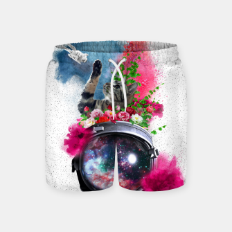 Thumbnail image of Cat's Dream Swim Shorts, Live Heroes