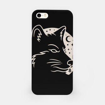 Miniatur Wolf Moon iPhone Case, Live Heroes