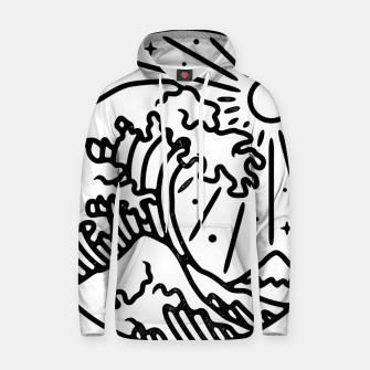 Thumbnail image of The Great Wave Hoodie, Live Heroes