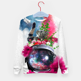 Thumbnail image of Cat's Dream Kid's sweater, Live Heroes