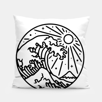Thumbnail image of The Great Wave Pillow, Live Heroes