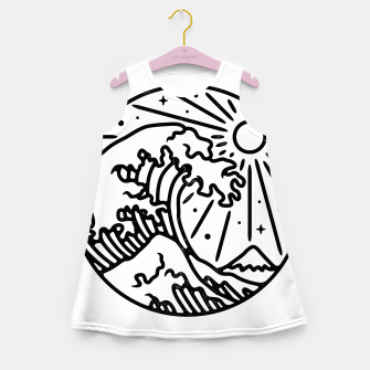 Thumbnail image of The Great Wave Girl's summer dress, Live Heroes